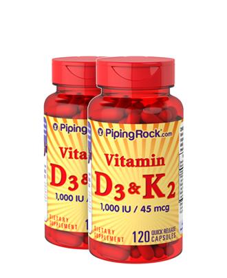 Vitamins D & K