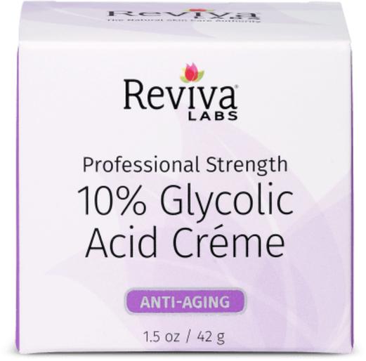 10% Glycolic Acid Creme, 1.5 oz Jar
