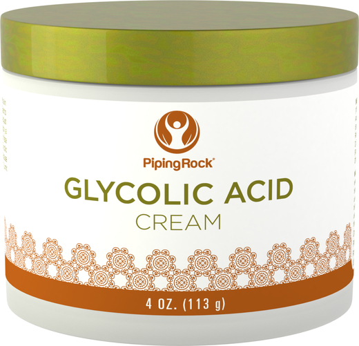 Crema all'acido glicolico 10%  4 oz (113 g) Vaso