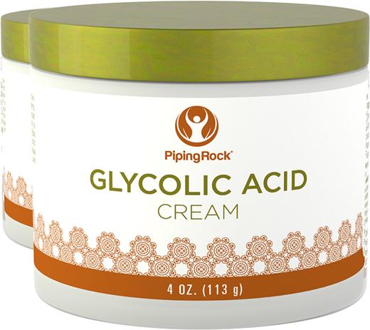 Crema de ácido glicólico al 10 %  4 oz (113 g) Tarro