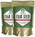 100% Pure Chia Seeds 2 Bags x 16 oz (454 g)