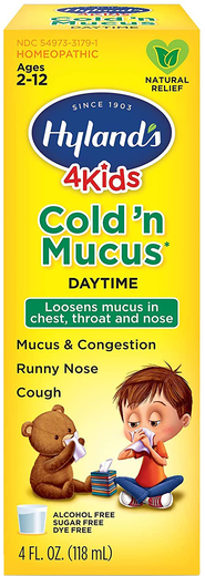 4Kids Cold n Mucus 4 fl oz (118ml)