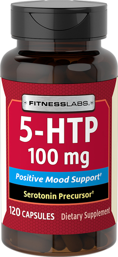 5-HTP, 100 mg, 120 Capsules