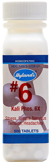 #6 Kali Phosphoricum 6X 500 Tablets