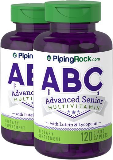 ABC Advanced Senior z luteiną i likopenem 120 Powlekane kapsułki