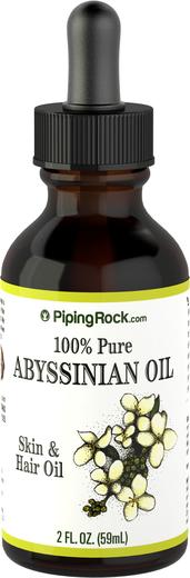 100% Чистое Абиссинское масло 2 fl oz (59 mL) Флакон с Пипеткой