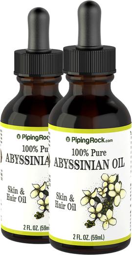 Óleo de Abissínio 100% puro 2 fl oz (59 mL) Frasco conta-gotas