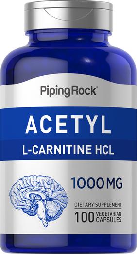 Acetylo L-karnityna  100 Kapsułki wegetariańskie