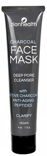 Máscara de Limpeza Profunda de Poros Carvão Adama, 4 oz (113 g) Tubo
