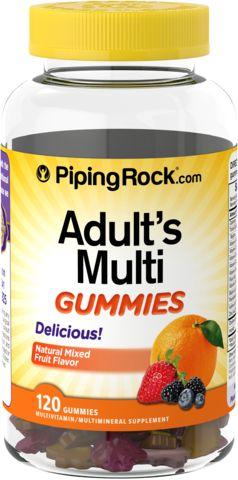 Volwassenen multi-snoepjes 120 Gom