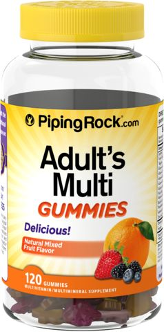 Multi Gummies per adulti 120 Caramelle gommose