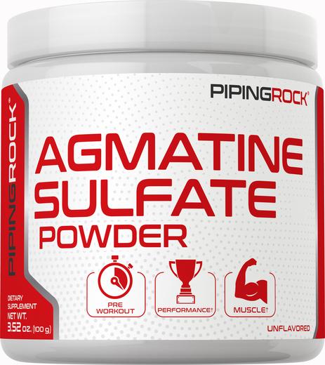 Pó de sulfato de agmatina, 3.52 oz (100 g) Frasco