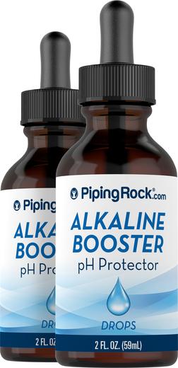 Krople zasadowe podnoszące pH 2 fl oz (59 mL) Butelka z zakraplaczem