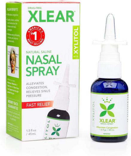Nasal Spray Natural Saline with Xylitol, 1.5 fl oz