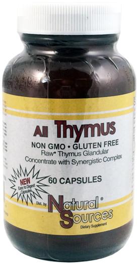 All Thymus (timo) 60 Cápsulas