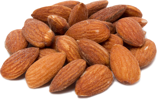 Almonds Roasted & Salted 1 lb (454 g) ถุง