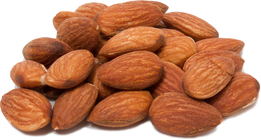 Roasted Unsalted Almonds Healthy Snacks 1 lb (454 g) Bag