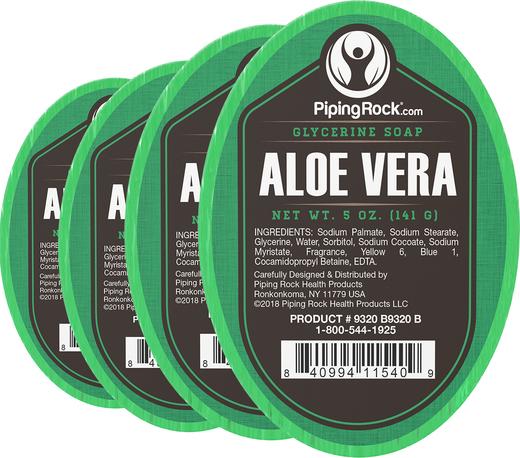 Aloe Vera Glycerine Soap 5 oz x 6 Bars