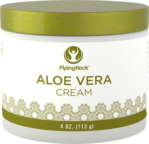 Creme hidratante de Aloe Vera, 4 oz (113 g) Boião