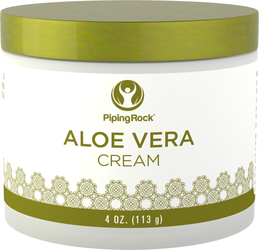 Buy Aloe Vera Cream 4 oz (113 g) Jar