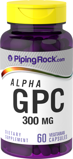 Alpha GPC Choline 300 mg 60 Capsules