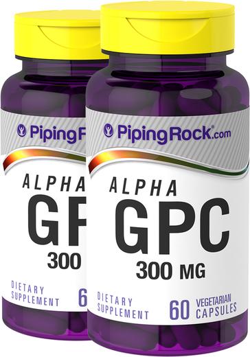 Alpha GPC 300 mg   60 Capsules