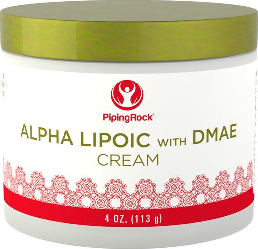 Creme de ácido alfa-lipóico com DMAE, 4 oz (113 g) Boião