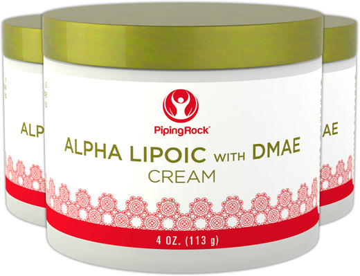 Alpha Lipoic with DMAE Cream 3 Jars x 4 oz