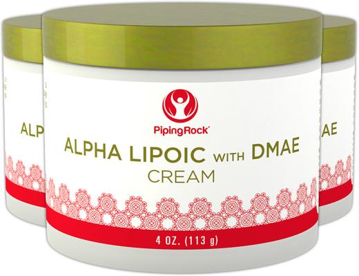 Crema de ácido alfa-lipóico con DMAE 4 oz (113 g) Tarro