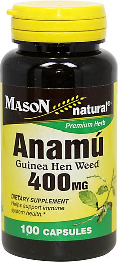 Anamu, 400 mg, 100 Cápsulas
