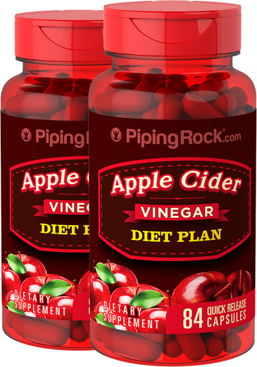 Apple Cider Vinegar Diet 2 Bottles x 84 Capsules