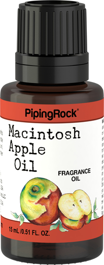 Apple (Macintosh) Fragrance Oil 1/2 oz (15 ml) Dropper Bottle