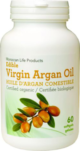 Argan Oil 500mg 60 Softgels