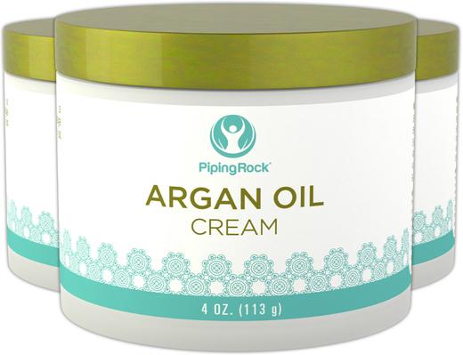 Krem z olejkiem arganowym 4 oz (113 g) Słoik