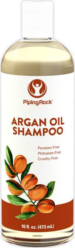 Shampoo Argan 16 fl oz (473 mL) Frasco