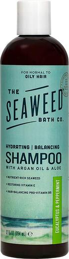 Shampoo with Argan Oil & Aloe (Eucalyptus & Peppermint), 12 fl oz