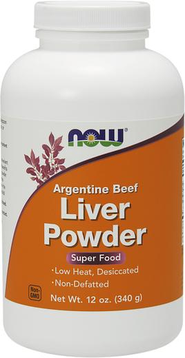 Proszek z wątroby wołowiny argentyńskiej 12 oz (340 g) Butelka