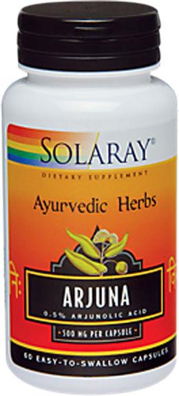 Arjuna , 500 mg, 60 Cápsulas
