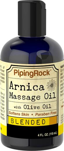 Óleo de massagem de arnica, 4 fl oz (118 mL) Frasco