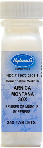 Arnica Montana 30X Homeopathic for Bruises & Muscle Soreness 250 Tablets