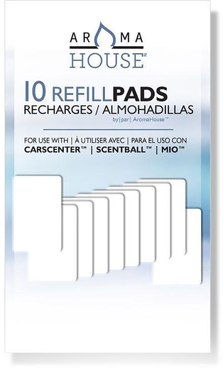Aromatherapy Refills for Scentball Diffuser 10 Pack