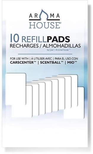 Refills til spreder til aromaterapi (duftball) 10 Pakke