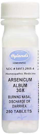 Arsenicum Album 30x Homeopático Diarreia 250 Comprimidos