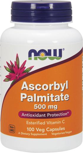 Ascorbil Palmitato , 500 mg, 100 Cápsulas vegetarianas