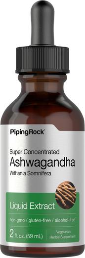 Płynny wyciąg z witanii ospałej 2 fl oz (59 mL) Butelka z zakraplaczem