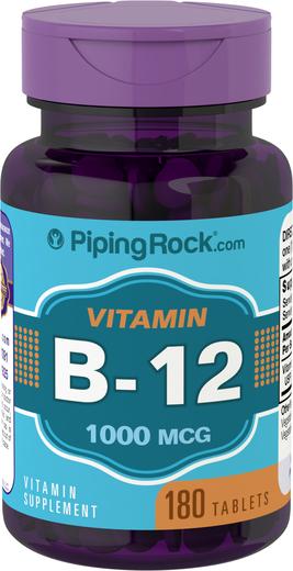 B12 , 1000 mcg, 180 Comprimidos