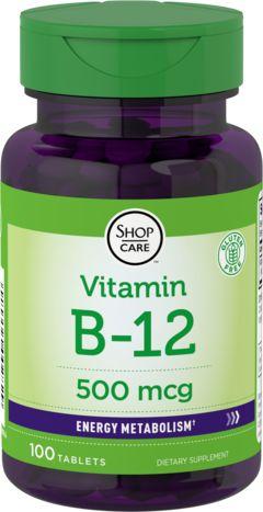 Витамин B-12 100 Таблетки
