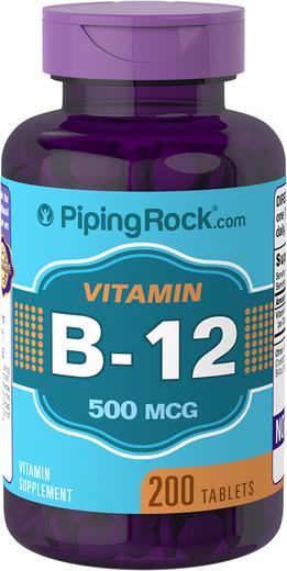 B12  200 Comprimidos