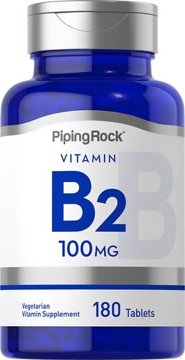 Riboflavin B-2 100 mg 180 Tablets