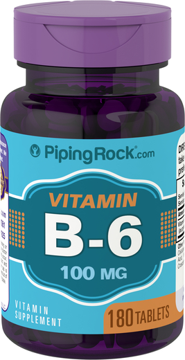 B6 (piridoxina) 180 Comprimidos